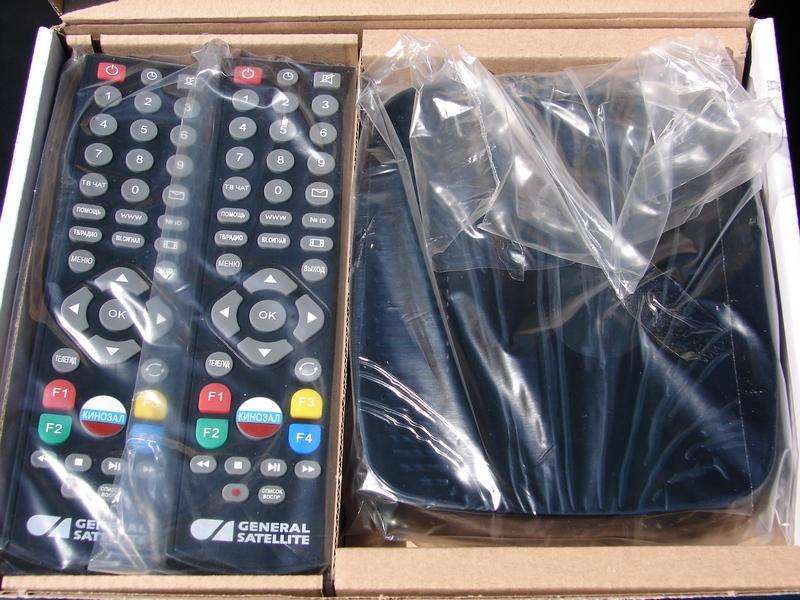 коробка с GS E501/GS C591