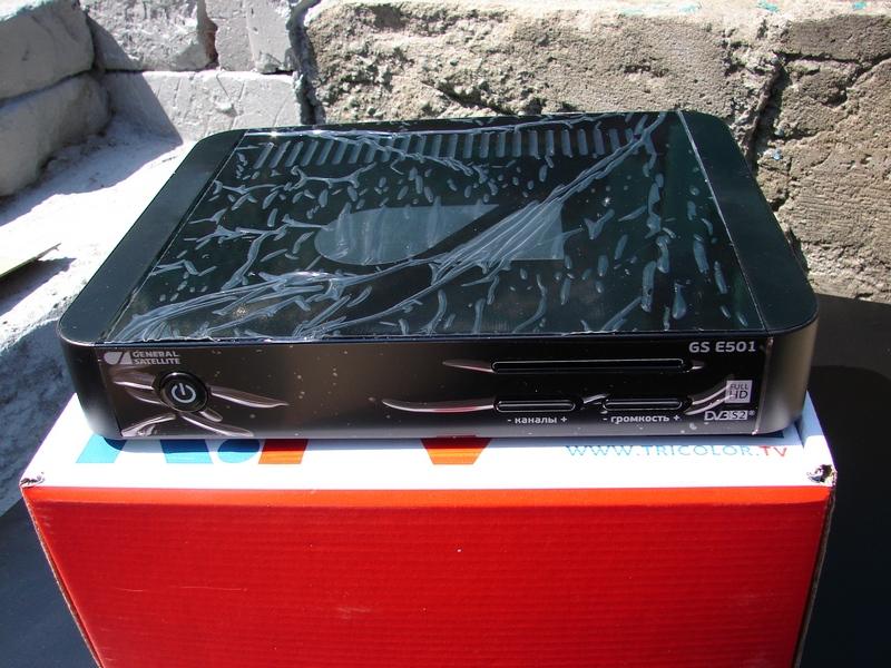 GS E501 - передняя панель