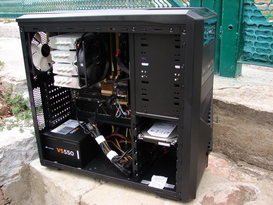 Сборка тихого и быстрого компьютера для офисных целей