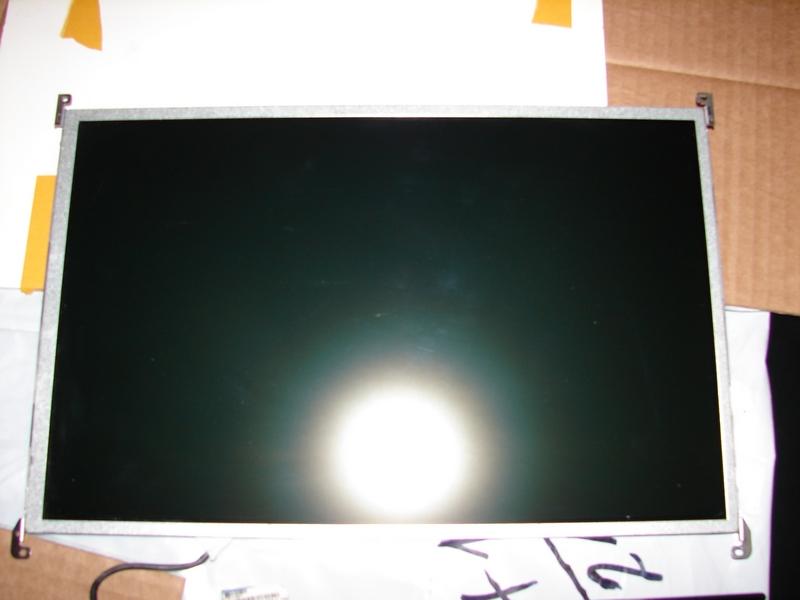 Рабочая матрица после извлечения её из защитной рамки экрана