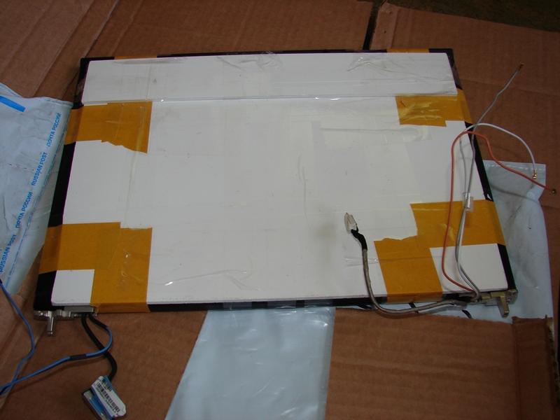 Защитная транспортировочная упаковка на матрице для ноутбука Lenovo T410