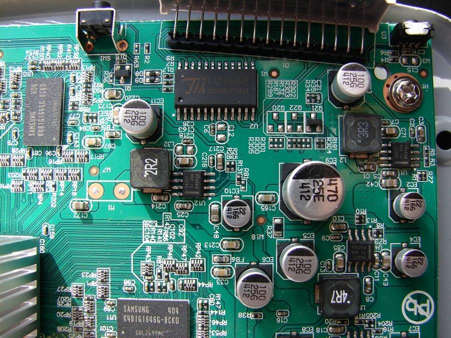 Ресивер GS_C591 - элементная база