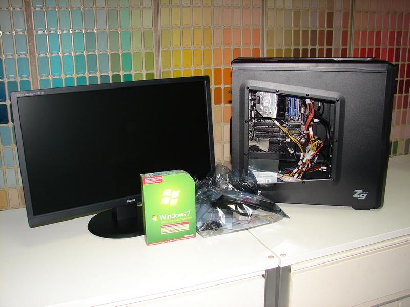 Готовый компьютер для бухгалтерии - собран и готов к действию