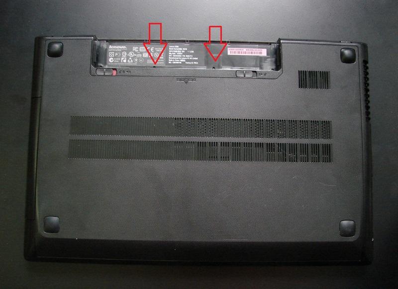 Разбираем Lenovo G500