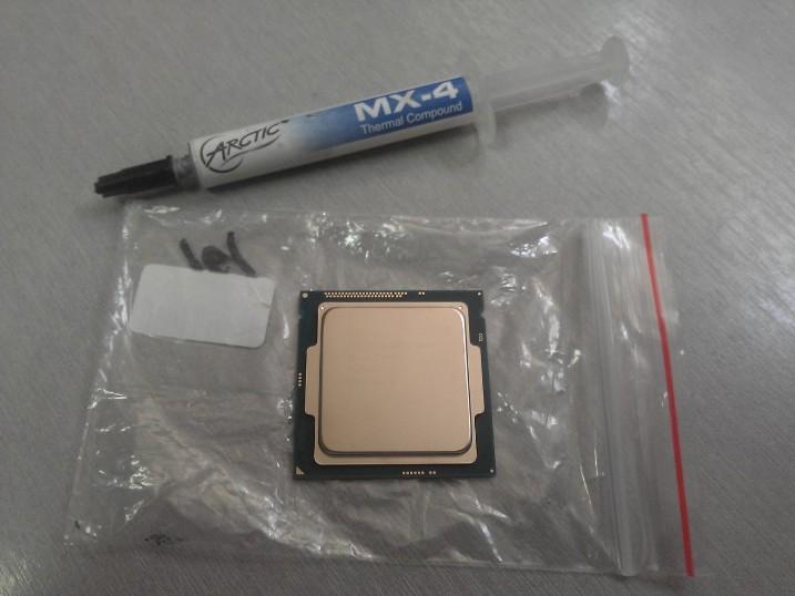 Готовимся установить процессор intel core i5 4460 на плату Asus B85M-G