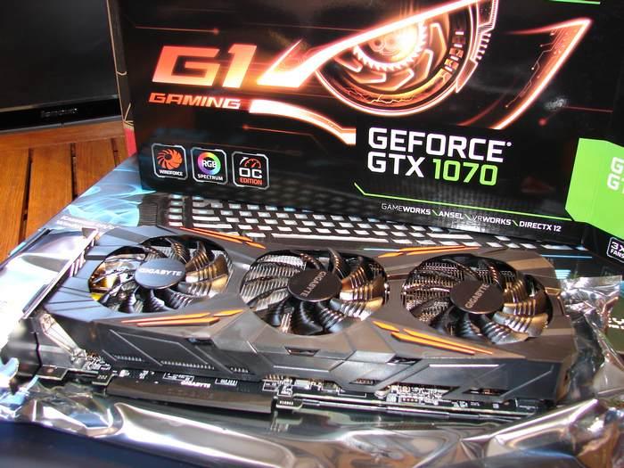 Gigabyte-GeForce GTX-1070-GV-N1070G1-GAMING-8GD