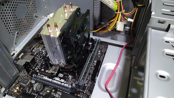 Собираем новый старый системный блок на свежей материнской плате и процессоре