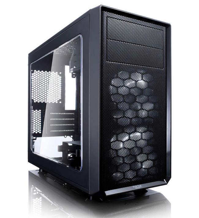 Корпус mATX FRACTAL DESIGN FOCUS G MINI Window, Mini-Tower - хороший, интересный вариант для сборки компактного компьютера
